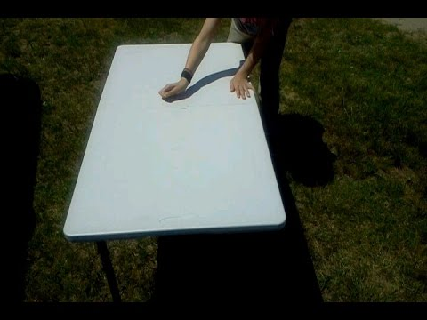 Northwest Territory Fold In Half Adjustable Height Table 4 0001