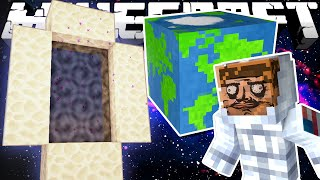 If a Space Dimension was Added to Minecraft