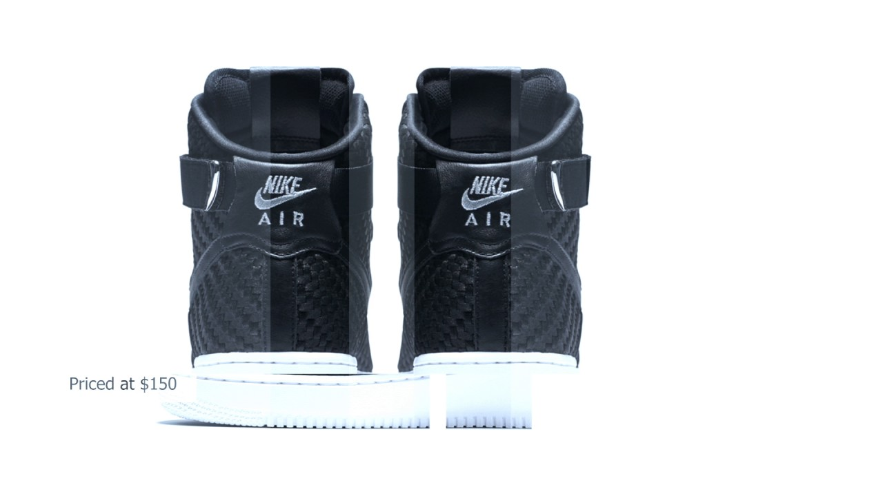 huge discount 12617 03648 Nike Air Force 1 High LV8 Woven