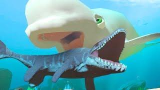 NEW BELUGA vs MOSASAURUS - Feed and Grow Fish - Part 76  Pungence