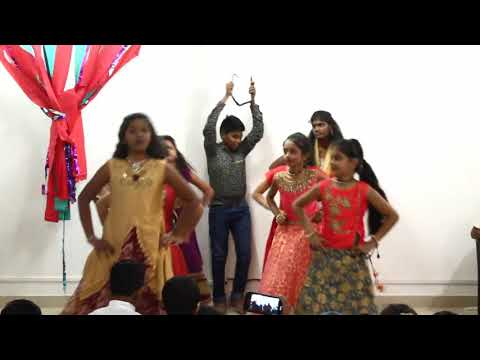 ''yeshu ke naam mein shifa hai' girls dance