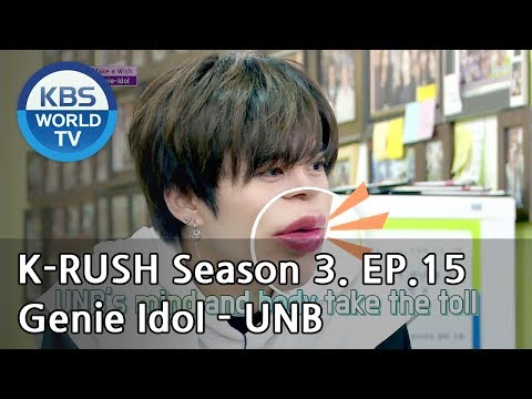 Genie Idol - UNB [KBS World Idol Show K-RUSH3 / ENG,CHN / 2018.06.22]