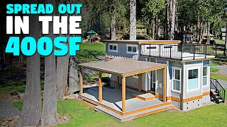 400 Sq Ft Tiny House With Wide Open Floor Plan