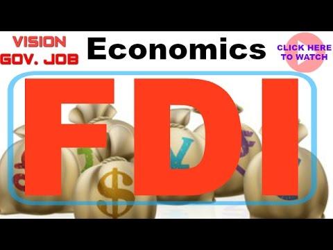 || FDI || Important topic from Economics || for mpsc upsc sti psi asst exams ||