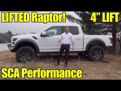 LIFTED  Ford Raptor by SCA Performance! Walkaround, Exhaust, How to Buy!