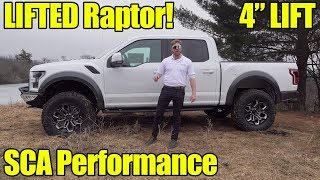 LIFTED 2019 Ford Raptor by SCA Performance! Walkaround, Exhaust, How to Buy!