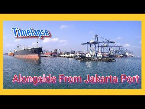 Along Side From Jakarta Port Of Pertamina