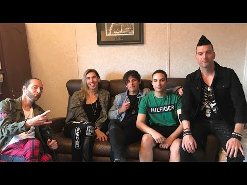 Marianas Trench Interview 2018 - Cassius Morris Show 101