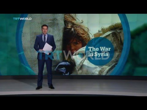 UN aid convoys arrive in Madaya