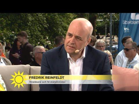 """Reinfeldt: """"Någon måste förmå Trump att sluta tro på det han twittrar"""" - Nyhetsmorgon (TV4)"""