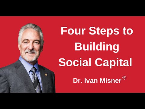 4 Steps to Building Social Capital with Dr. Ivan Misner®