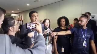CABO DACIOLO no TSE pedindo votos em cédulas