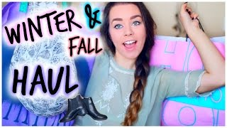 Fall/Winter Clothing Haul! Urban Outfitters, TopShop, Free People & More!