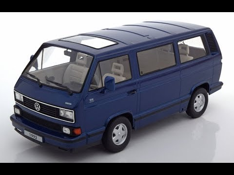 kk scale vw t3 multivan limited last edition blue youtube. Black Bedroom Furniture Sets. Home Design Ideas