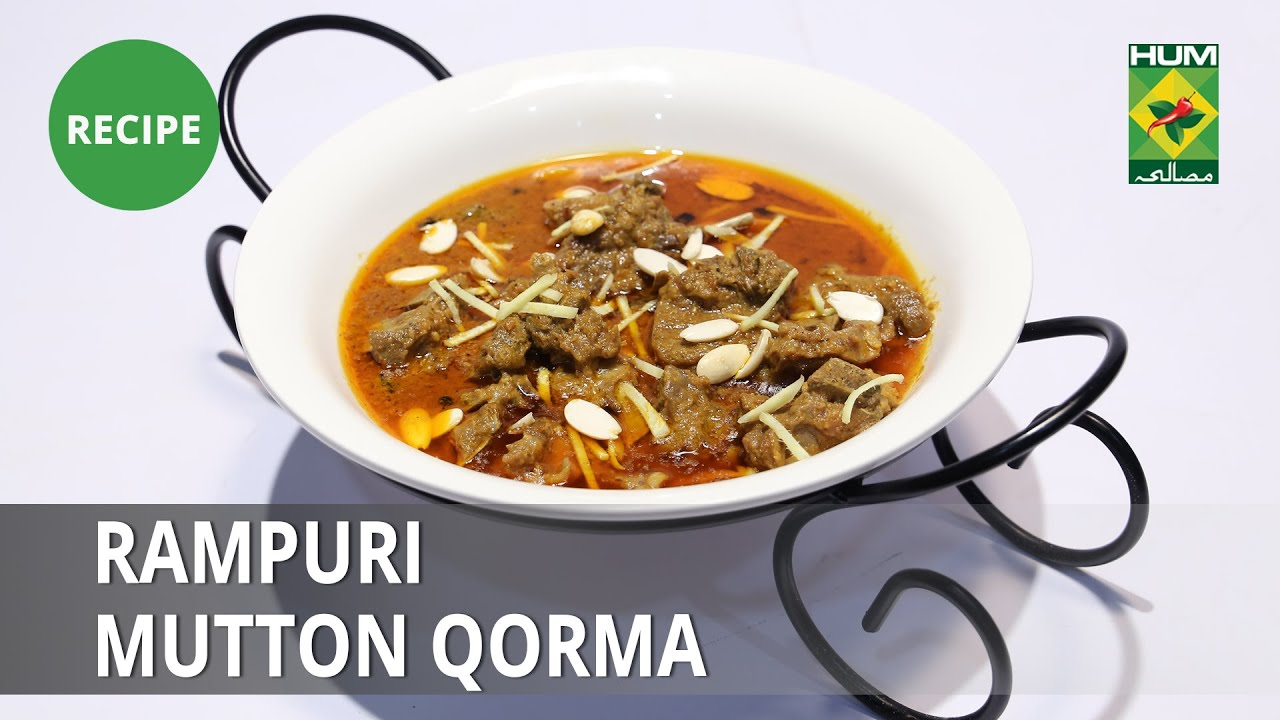 Rampuri Mutton Qorma Recipe   Lazzat   Samina Jalil   Desi Food