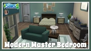 Sims 4 | Modern Master Bedroom Room Build