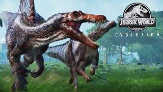 Species Profile Spinosaurus Jurassic World Evolution