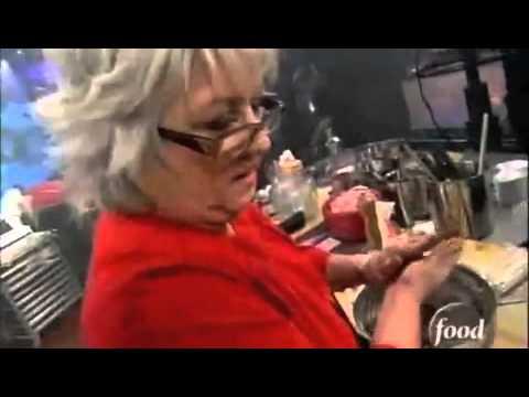 Paula Deen, BUTTER, bites guys finger...
