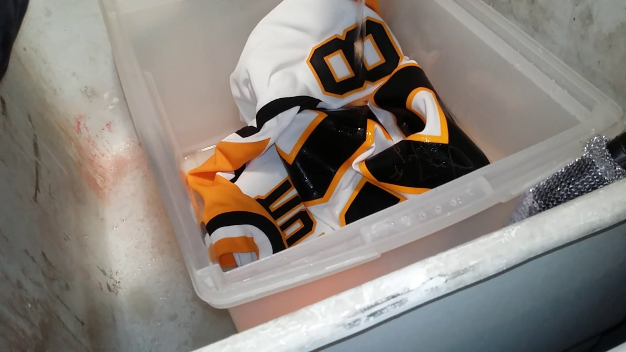 Quick autographed jersey clean up washing can be done - YouTube af11e53e5b8