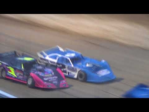 Late Model Heat Race #2 on 04-27-2018 at I-96 Speedway.