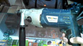 Дрель ударная WINTECH WID-850/2. Обзор инструмента