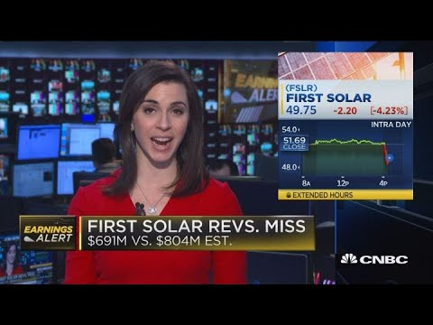 First Solar revenues miss, Roku beats earnings