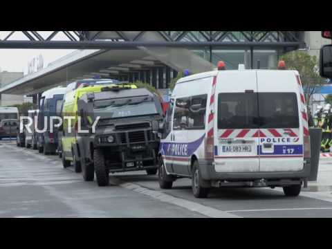 France: Heavily armed special forces raid Paris Orly Airport after shooting