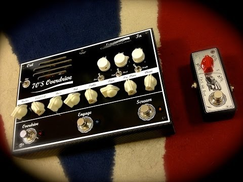 Fredamp 70'S overdrive and F.A.C 666 boost