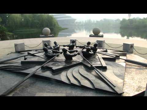 Hangzhou 杭州 - 早餐後的體育公園 day 7 - 3 ( China )