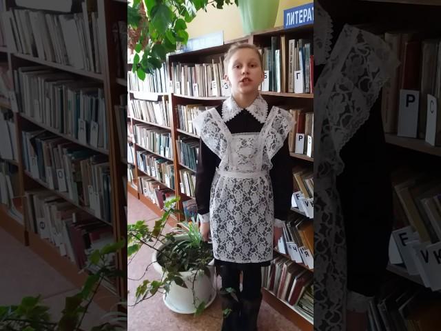 Изображение предпросмотра прочтения – ОлесяКобелева читает произведение «Бабочка» А.А.Фета