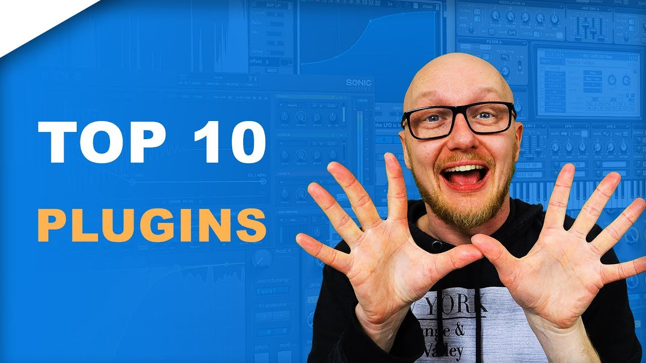 Best VST/plugins electronic music production for beginners // MY TOP 10
