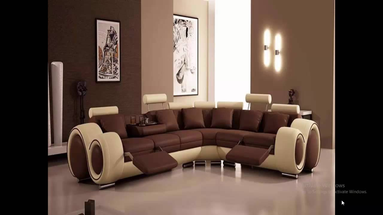 Luxury sofa designs youtube for Home gallery design