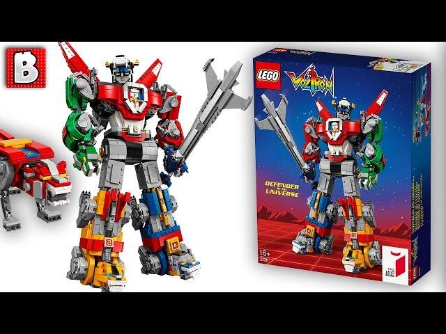 Voltron i cinque leoni robot anni diventano una creazione lego