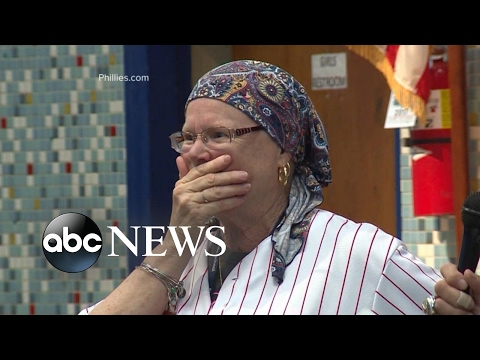 Students give Philadelphia teacher the surprise of her life