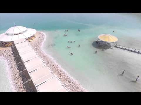 OUTstanding Travel Drone Flight Over Masada & The Dead Sea