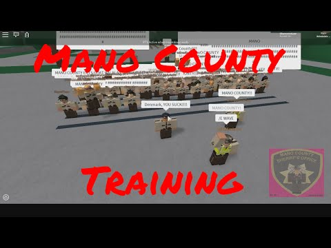 MCSO Training [Gone Wrong] [Part 1]