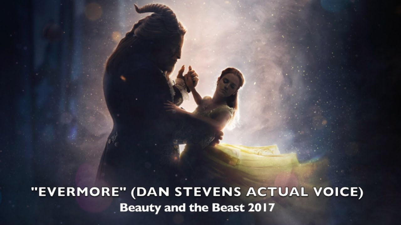 """""""Evermore"""" - Dan Stevens ACTUAL Voice (Beauty And The ..."""