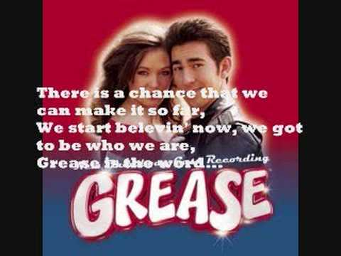 Grease Broadway Cast: Grease (is the word) Sing - a - Long