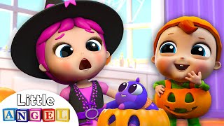 This is the Way We Trick or Treat this Halloween | Kids Songs and Nursery Rhymes by Little Angel