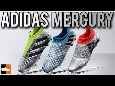 Adidas Mercury Pack | Silver 2016 Euro & Copa America Football Boots