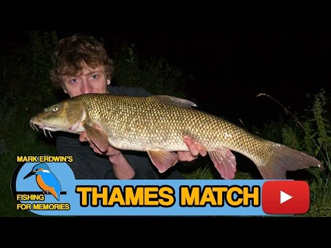 Fishing The River Thames - Youtube Angling Bloggers Social 2012  ( Video 39 )