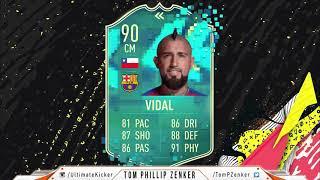 FIFA 20 SBC Flashback Arturo Vidal CHEAPEST SOLUTION 446000  FUT 20 SQUAD BUILDING CHALLENGE