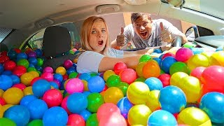 BALL PIT PRANK on ME! (REVENGE PRANK BY CARLOS AND MY DAD!) // SoCassie