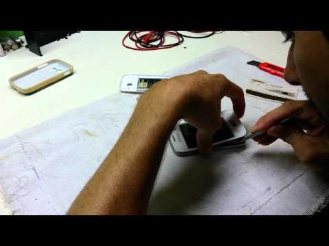 Galaxy Pocket 2 desmontar e trocar o display   parte 1