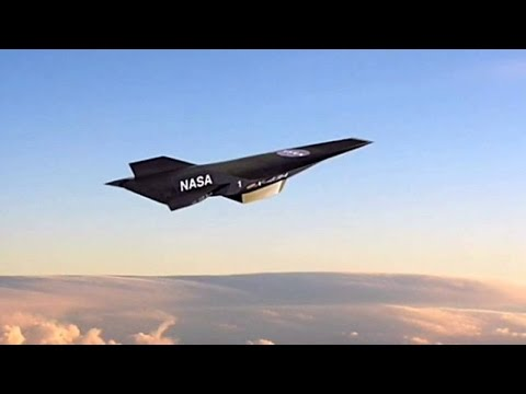 The X   -  43      Unmanned Alone Jet Aeroplane The Fastest