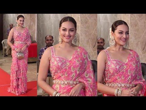 Salman's Dabangg Actress Sonakshi Sinha Looking Beautiful At Ramesh Taurani Diwali Party 2019 Mp3