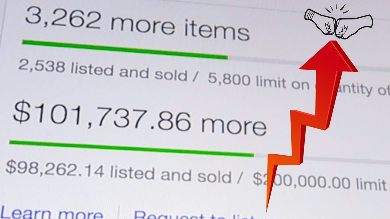 How To Increase Your Selling Limits On Ebay Get More Sales Youtube