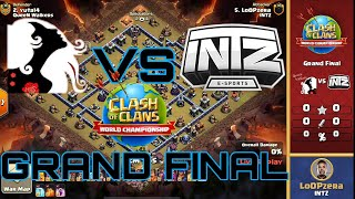 [ GRAND FINALS ] QUEEN WALKERS VS INTZ Clash of Clans Tournament 2020 | COC WORLD CHAMPIONSHIP