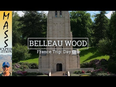 Explore France 1/8: Belleau Wood: Battlefield, Fountain, and Cemetery & Memorial - [4K]