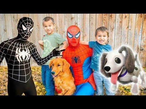 Spiderman SAVES Earl From Black Spiderman!